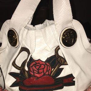 Gucci python purse
